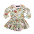 Rock Your Kid Baby Long Sleeve FREE RANGE Waisted Dress
