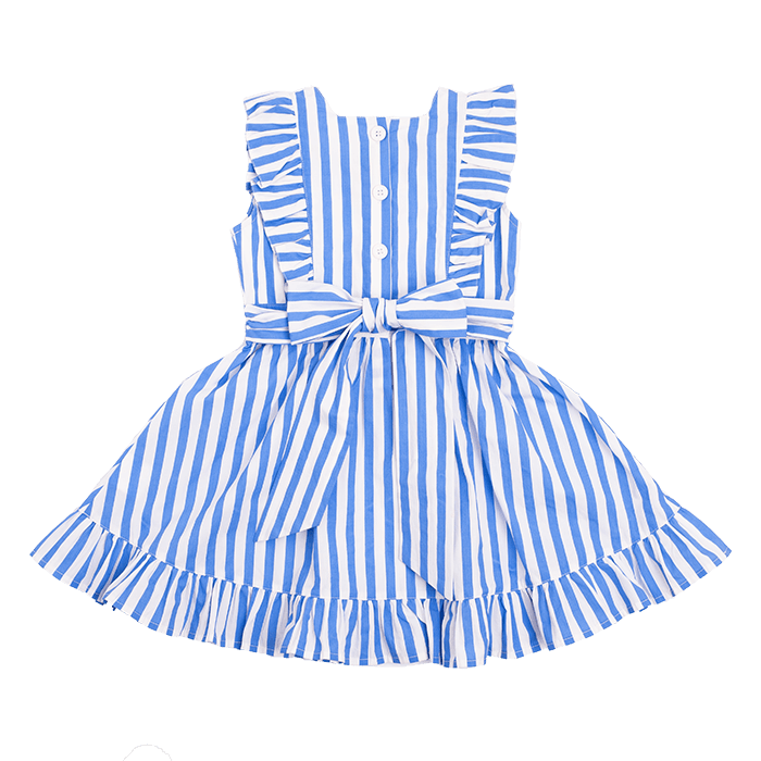 Rock Your Kid BLUE STRIPE Babette Dress