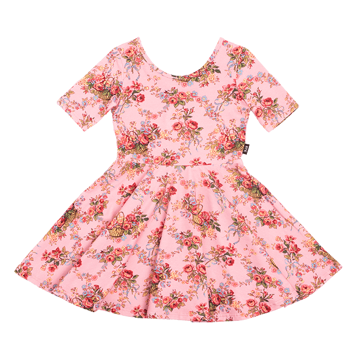 Rock Your Kid PINK GARDEN PARTY Mabel Dress