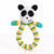 PEBBLE Ring Rattle Panda