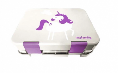 My Family Easy Clean Bento Unicorn
