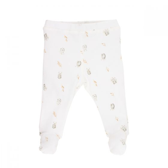 BÉBÉ by MINIHAHA - AUST Koala Print Leggings with Feet