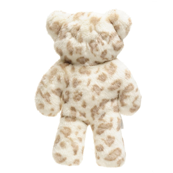 Cuddle Teddy 33cm (Snow Leopard / Pink Leopard / Rice Pudding)