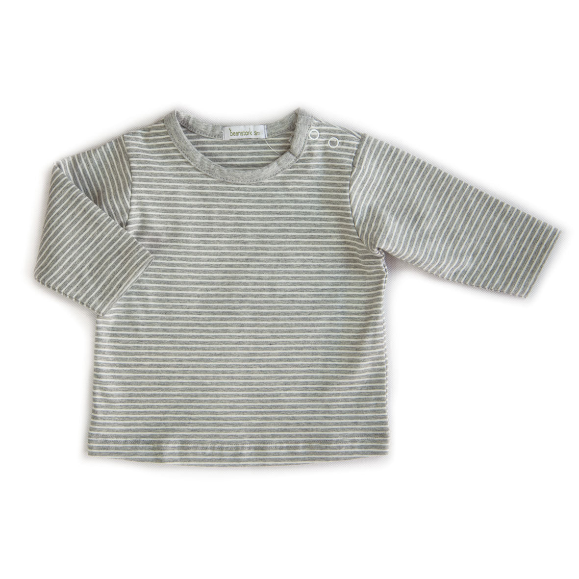 BEANSTORK - Grey Stripe Tee