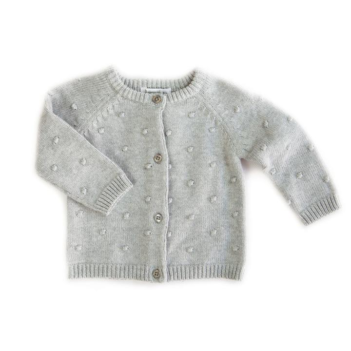 BEANSTORK -  Bobble Cardigan Grey