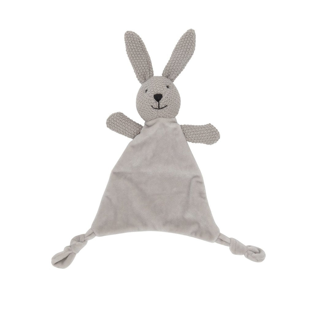LILY & GEORGE Wild Ones Bunny Comforter - Pink or Grey