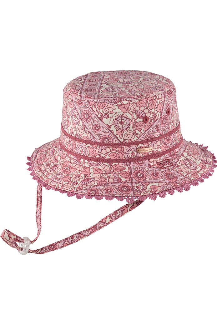 Millymook Girls Bucket Hat - Alyssa Pink