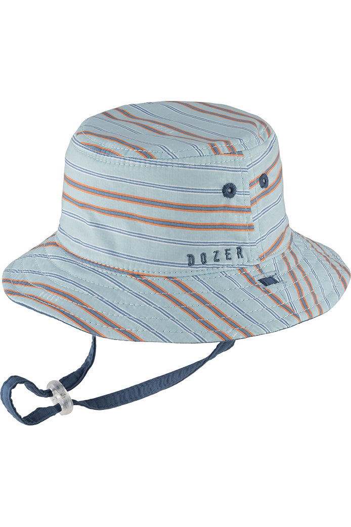 Millymook Dozer Baby Boy Bucket Hat - Hugh Blue