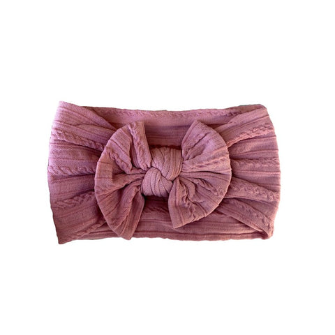 Arch N Ollie Cable Knot Bow - ROYAL ROUGE