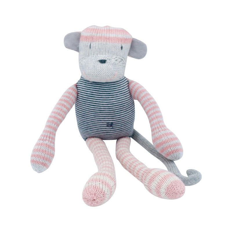 And The Little Dog Laughed - Hand Knitted 'Mabel' Monkey