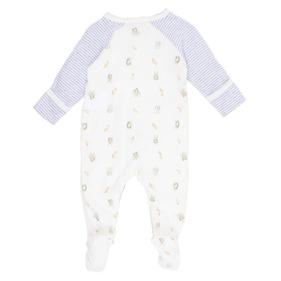 BÉBÉ by MINIHAHA - AUST Long Sleeve Wrap Romper