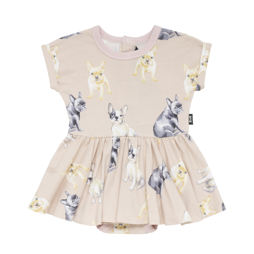 Rock Your Baby CLOVIS Waisted Baby Dress