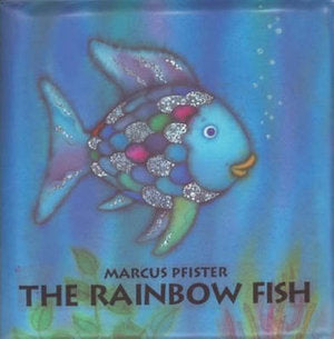 Rainbow Fish Bath Book by PFISTER MARCUS