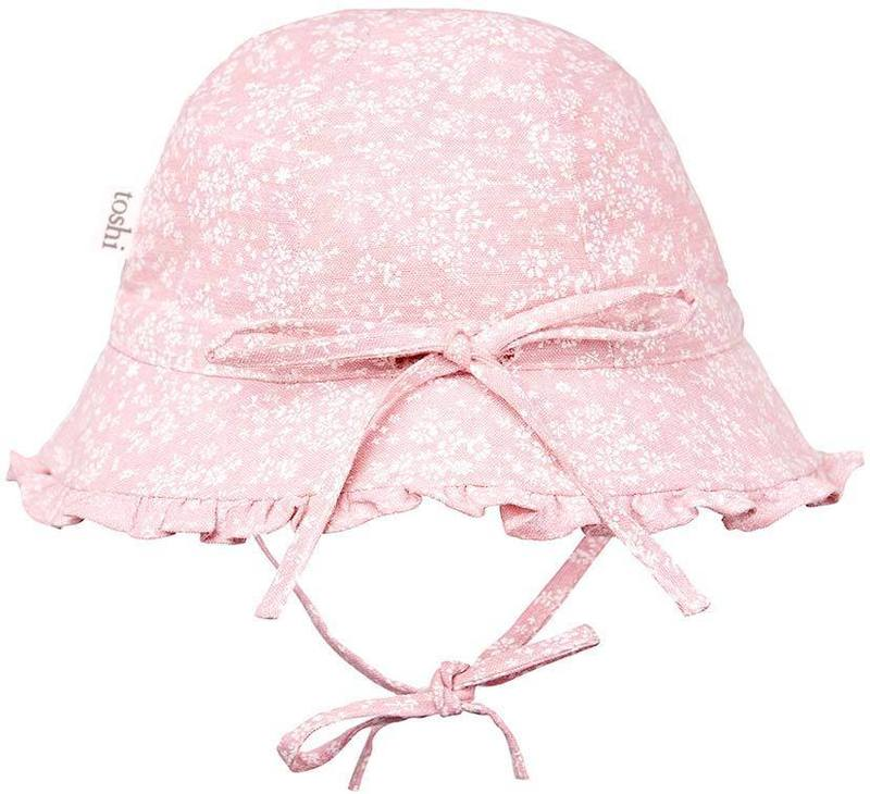 Toshi Bell Hat - Mae Blush