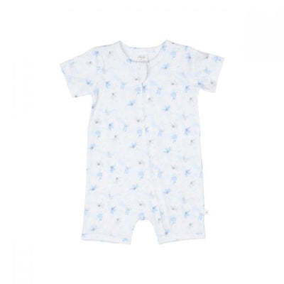 WHITE LABEL by MINIHAHA - ELEPHANT Short Sleeves Romper