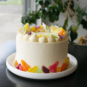 Vanilla Lolly Cake