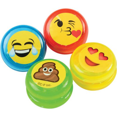 Mini Smile Yo-Yos (One Dozen) - Toys