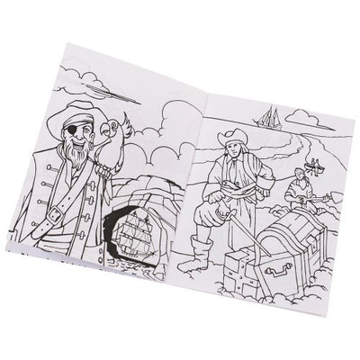 pirate pirate coloring books  - Carnival Supplies