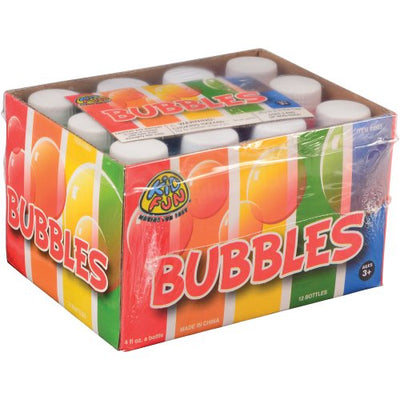 Party Bubbles - 4 Ounce (Box) - Party Supplies
