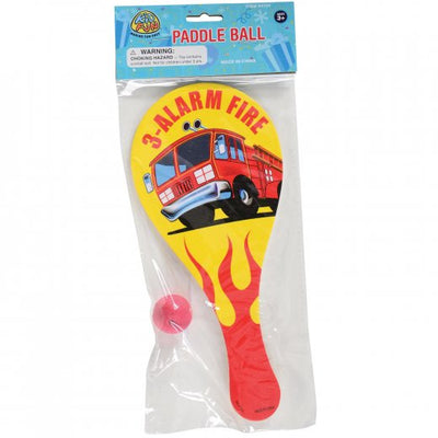 Firefighter Paddle Balls (One dozen) - Games and Puzzles
