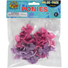 Pink And Purple Mini Ponies (pack of 12) - Toys