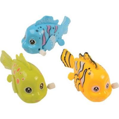 Tropical Fish Wind-Up (pack of 4) - Toys