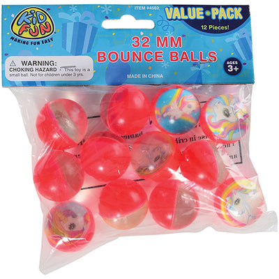 Unicorn Bounce Balls 32 MM - Party Themes