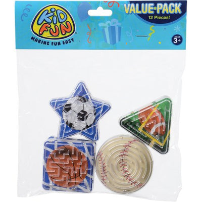 sports maze puzzles  - Carnival Supplies