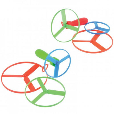 Mini Pull String Saucers (one dozen) - Toys