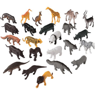 2.25 inch Wild Animals (144 pieces) - Toys