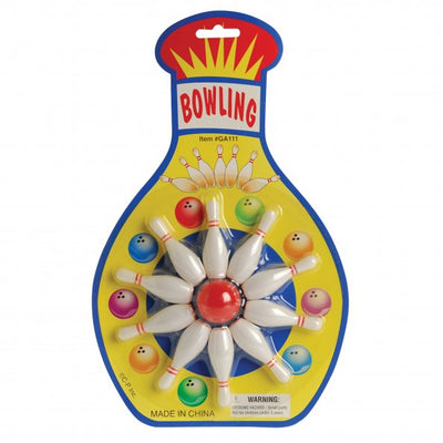 bowling game  - Carnival Supplies
