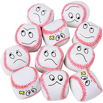 Baseball Face Kickballs (1 Dozen) - Sports