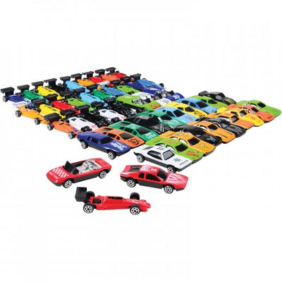 50 Piece Race Car Set (One Set) - Toys