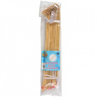 Wooden Back Scratchers (pack of 12) - Novelties