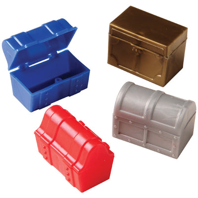 Pirate Assorted Treasure Chests (One Dozen) - Party Themes
