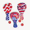 4th Of July Patriotic Paddle Balls (One Dozen) - Holidays