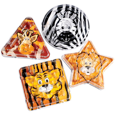 Games and Puzzles - Animal Maze Puzzles (One Dozen)