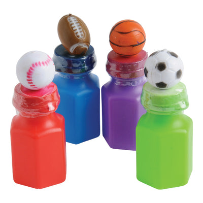 Sports Head Bubbles (1 Dozen) - Party Supplies