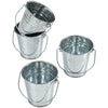 Mini Metal Buckets (1 Dozen) - Party Supplies