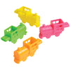 Mini Neon Train Whistles (One Dozen) - Party Supplies