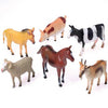 Farm Animals - 8 Inch (1 Dozen) - Toys