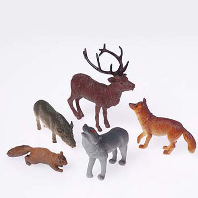 Woodland Anmals (One dozen) - Toys