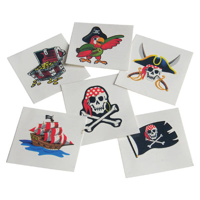 Pirate Pirate Tattoos (pack of 144) - Party Themes