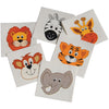 Wild Animal Tattoos (144 pieces) - Costumes and Accessories