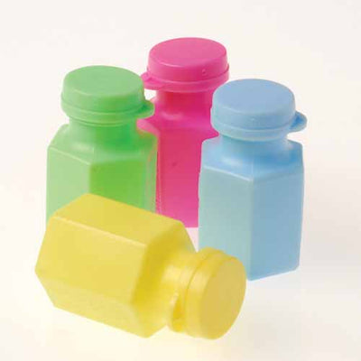 Pastel Mini Bubbles (one dozen) - Party Supplies