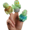 Gid Zombie Finger Puppets (one dozen) - by Carnival Source Discount Toys