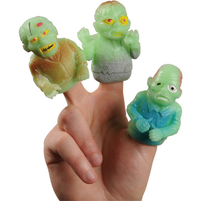Gid Zombie Finger Puppets (one dozen) - Party Themes