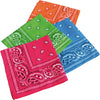 Neon Bandanas (one dozen) - Costumes and Accessories