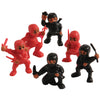 Party Themes - Mini Ninja Figures (One Dozen)