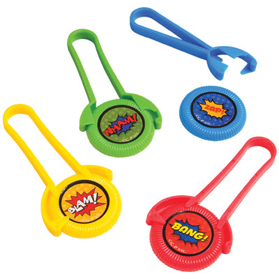 Superhero Disc Shooters (1 dozen) - Party Themes